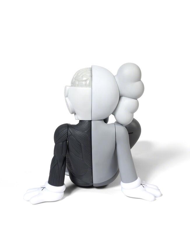 KAWS, 'COMPANION (RESRING PLACE) (Grey)', 2013, Sculpture, Painted cast vinyl, DIGARD AUCTION