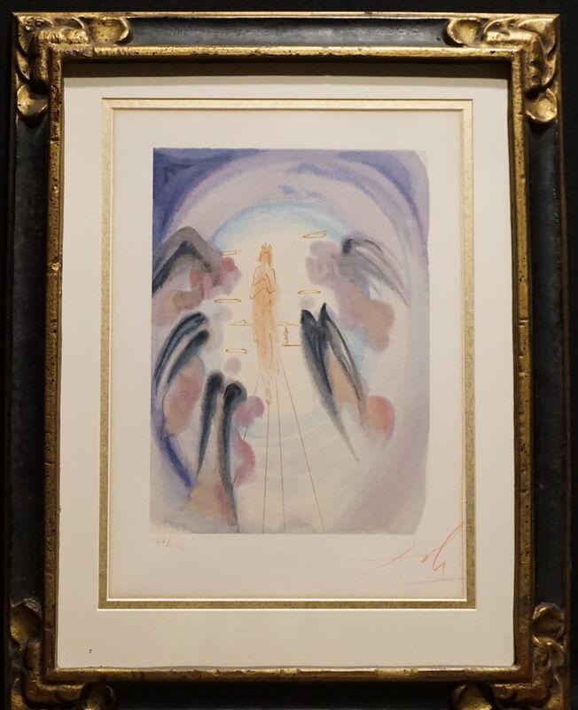 Salvador Dalí, 'Divine Comedy Heaven Canto 25', 1968, Print, Woodcut, Fine Art Acquisitions Dali