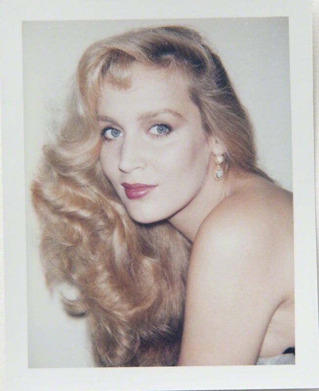 Andy Warhol, 'Andy Warhol, Polaroid Portrait of Jerry Hall', 1984, Photography, Polaroid, Hedges Projects