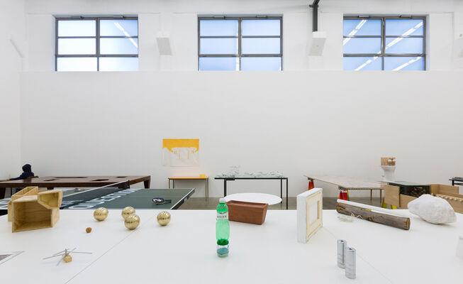 The Pagad - John Armleder, Massimo Bartolini, Maurizio Cattelan, Elmgreen & Dragset, Gelitin, installation view