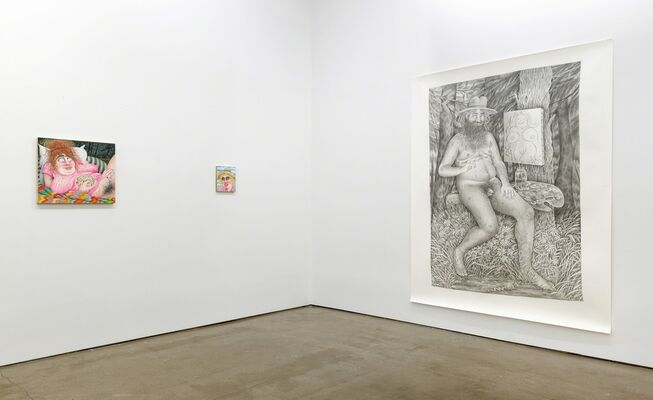 Rebecca Morgan: In The Pines, installation view