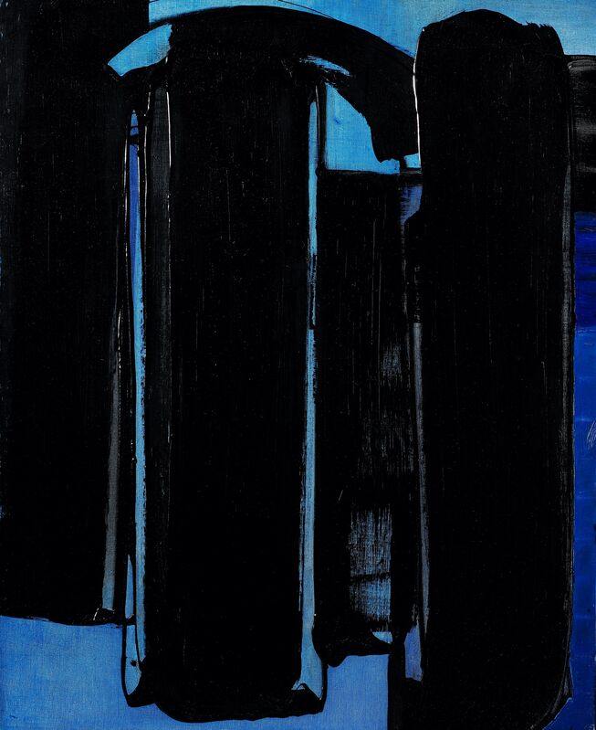 Pierre Soulages, 'Peinture 100 x 81 cm, 16 avril 1975', 1975, Painting, Oil on canvas, Opera Gallery