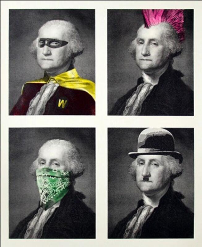 Mr. Brainwash, 'President's Day', 2018, Print, Serigraph, Composition.Gallery