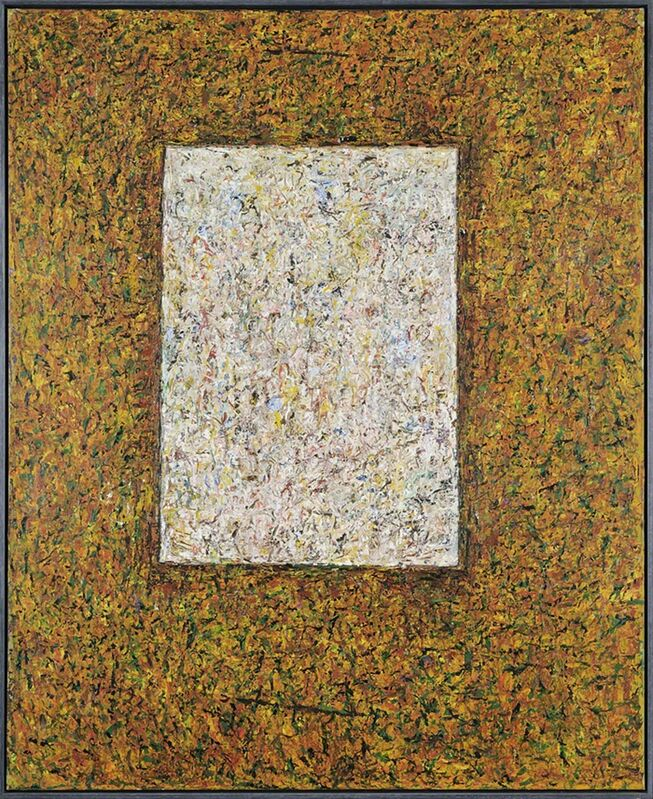 Paul Partos, 'No Title', 1980-1981, Painting, Oil on canvas, Charles Nodrum Gallery
