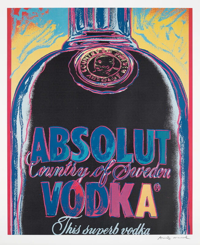 Andy Warhol, 'Absolut Vodka', 1985, Print, Screenprint in colours, on wove paper, with full margins., Phillips