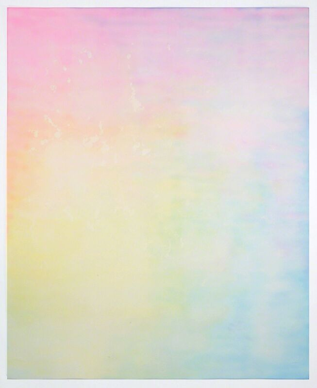 Ben Weiner, 'Advil Drawing #1', 2014, Drawing, Collage or other Work on Paper, Ink on chromatography paper soaked in Advil solution, Grey Area