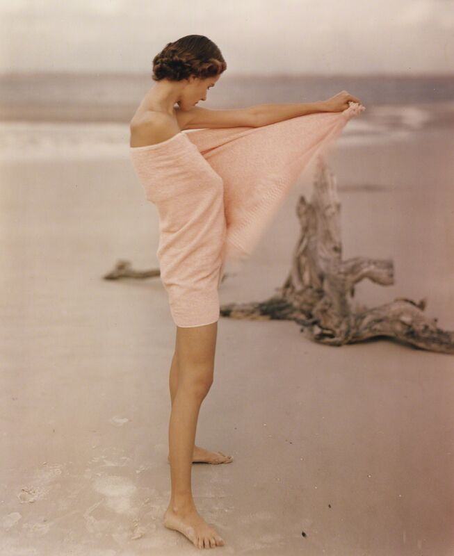 Frances McLaughlin-Gill, 'Carol McCarlson on the Beach, St. Augustine Florida', 1948, Photography, Chromogenic print; printed c.1948, Howard Greenberg Gallery