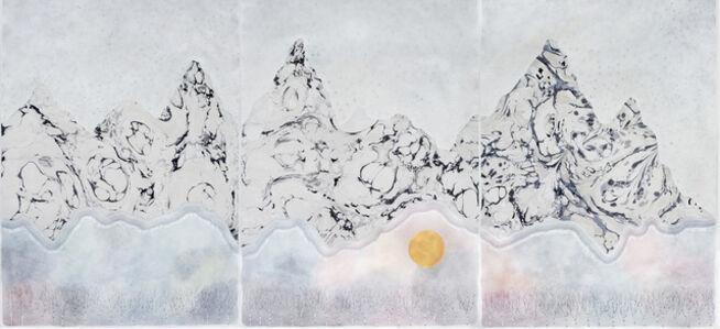 "Crystal Liu, 'the mountains, ""the wait""', 2017"