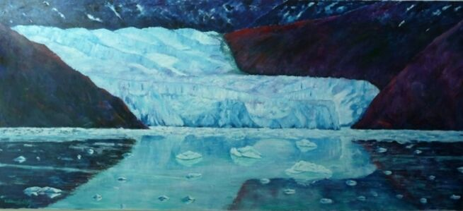 William Kelley, 'Alaskan glacier'