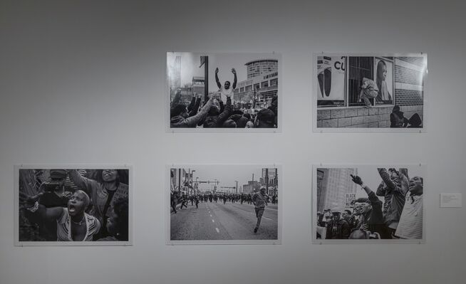 The Window and the Breaking of the Window, installation view