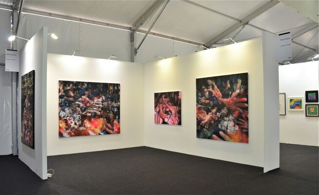Mazel Galerie at Art Central 2019, installation view