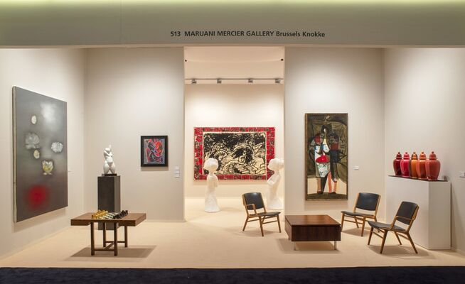 MARUANI MERCIER GALLERY at TEFAF Maastricht 2019, installation view