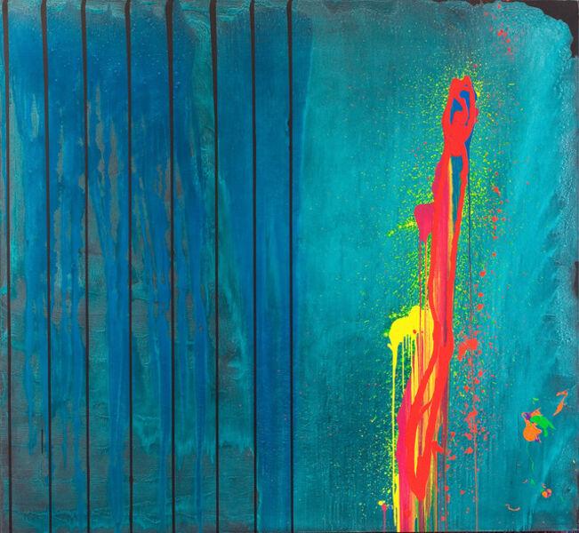 John Hoyland, 'The Abyss 7.11.2000', 2000