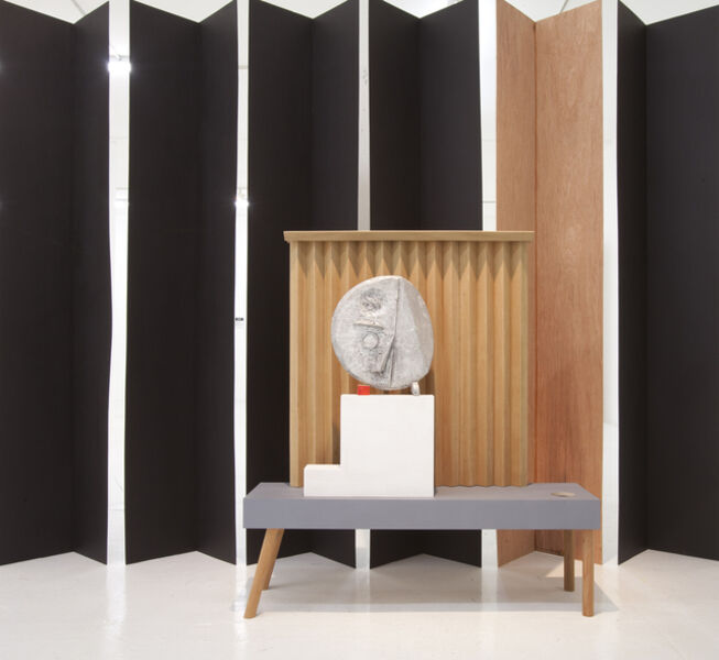 Ohad Meromi, 'Grave Digger #1 (Mask & curtain)', 2012