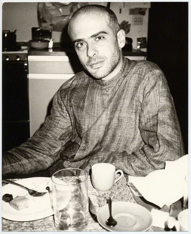 Andy Warhol, 'Francesco Clemente', 1984, Photography, Silver gelatin print on paper, Galerie Andrea Caratsch