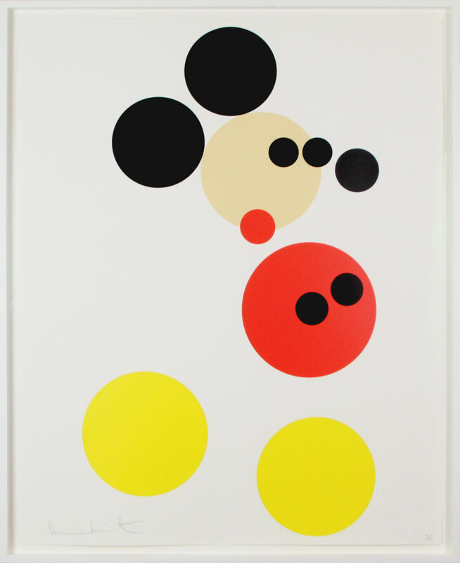 Damien Hirst, 'Mickey (Small)', 2014, Print, Screenprint with Glaze, Gormleys Fine Art