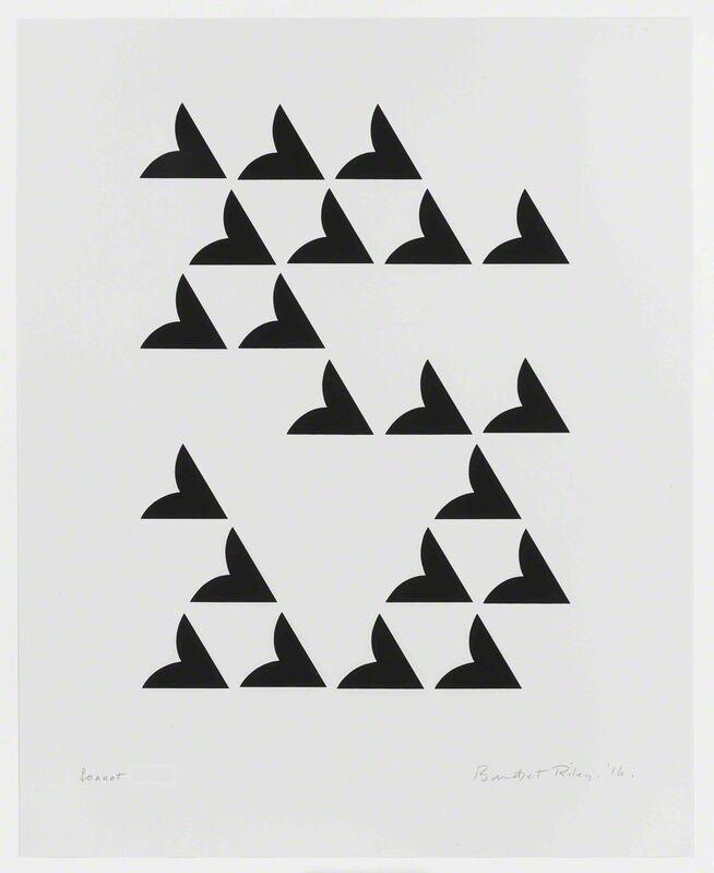 Bridget Riley, 'Sonnet', 2016, Print, Screenprint, Lougher Contemporary