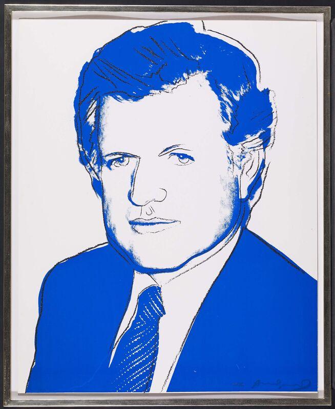 Andy Warhol, 'Edward Kennedy', 1980, Print, Colour silkscreen and diamond dust on Lenox museum board, Van Ham
