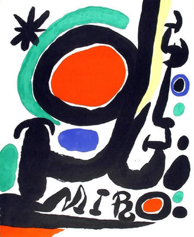Joan Miró, 'Miro Retrospective', 1968, Ephemera or Merchandise, Lithograph Poster, RoGallery