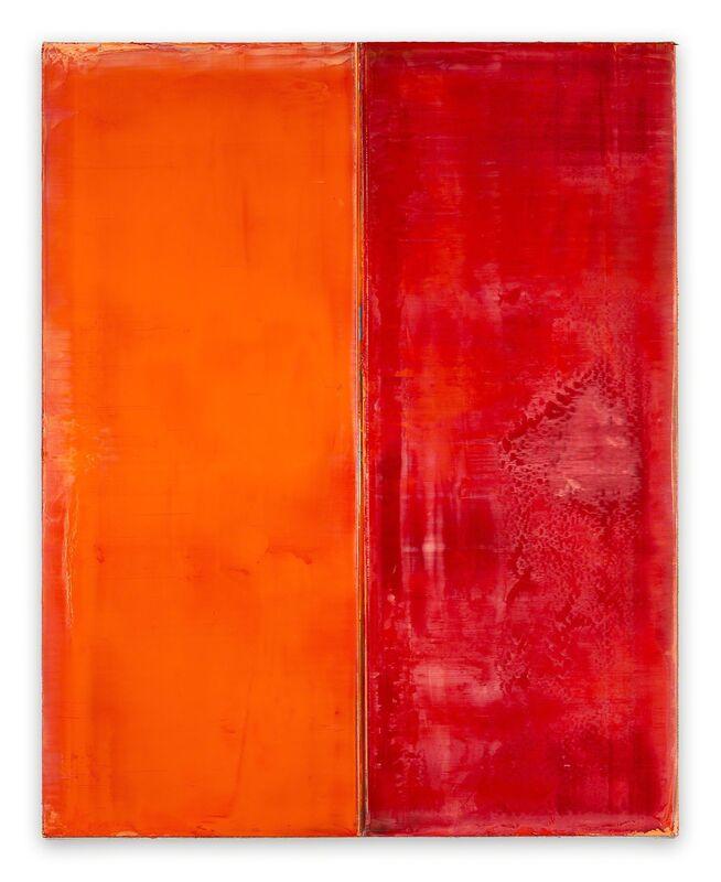 Arvid Boecker, '#1182 (Abstract painting)', 2018, Painting, Oil on canvas on wooden panel, IdeelArt