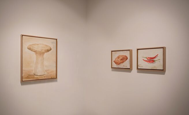 Tang Ke | Fruit: When gazing at an object, I see everything coming along, installation view