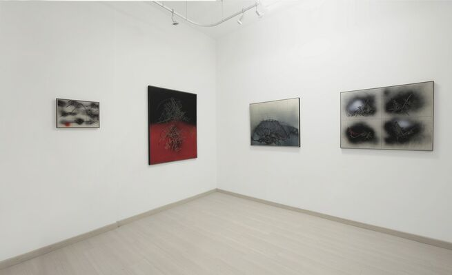 EMILIO SCANAVINO. Works 1971 - 1986, installation view