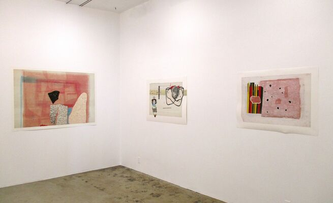 Lisa Bulawsky: Everything Is Still Happening, installation view