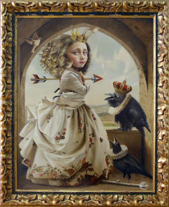 Olga Esther, 'Juana La Loca (Joanna, the Mad)', 2018, Painting, Oil on panel, Haven Gallery