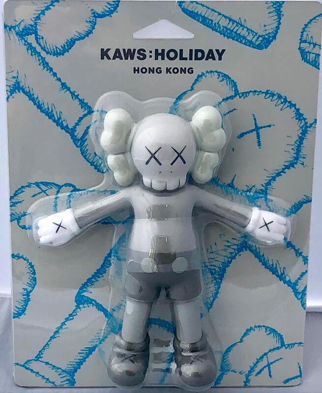 KAWS, 'KAWS Hong Kong Holiday Companion (KAWS grey companion)', 2019, Sculpture, Vinyl figure, Lot 180