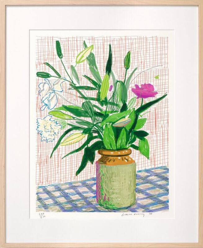David Hockney, 'Untitled, 516, 2010', 2016, Print, IPad drawing printed on archival paper, Reem Gallery