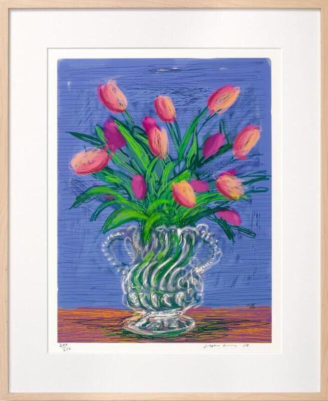David Hockney, 'Untitled, 346, 2010', 2016, Print, IPad drawing printed on archival paper, Reem Gallery