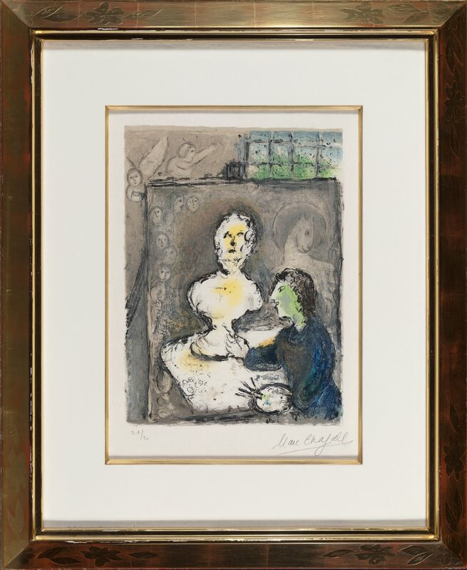 Marc Chagall, 'from L'Odyssée', 1975, Print, Lithograph in colors on Japon Nacre paper, Heritage Auctions