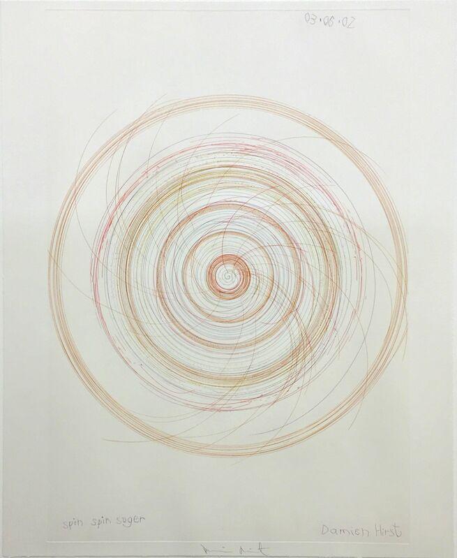 Damien Hirst, 'Spin,Spin, Sugar', 2002, Print, Etching, DTR Modern Galleries