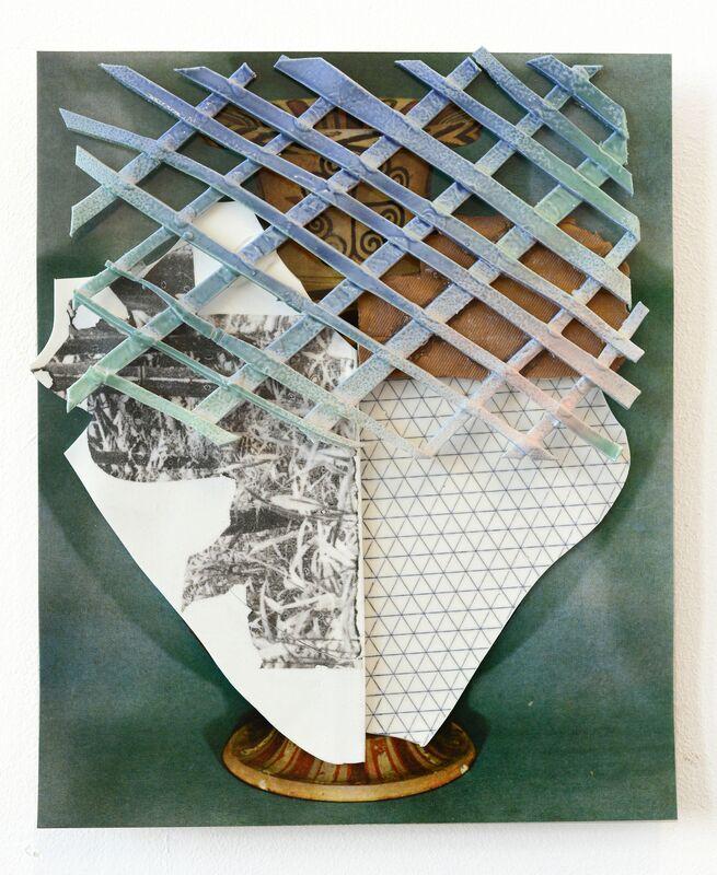 Marjolijn De Wit, 'Untitled (MDW026)', 2015, Sculpture, Ceramic on print, Asya Geisberg Gallery