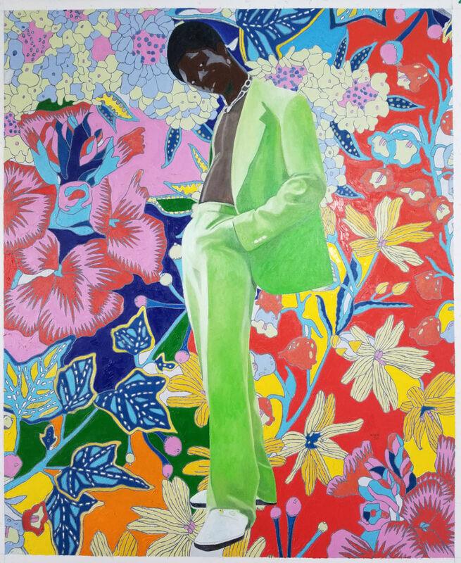 Wole Lagunju, 'Psyechedelia', 2020, Painting, Oil on canvas, Montague Contemporary