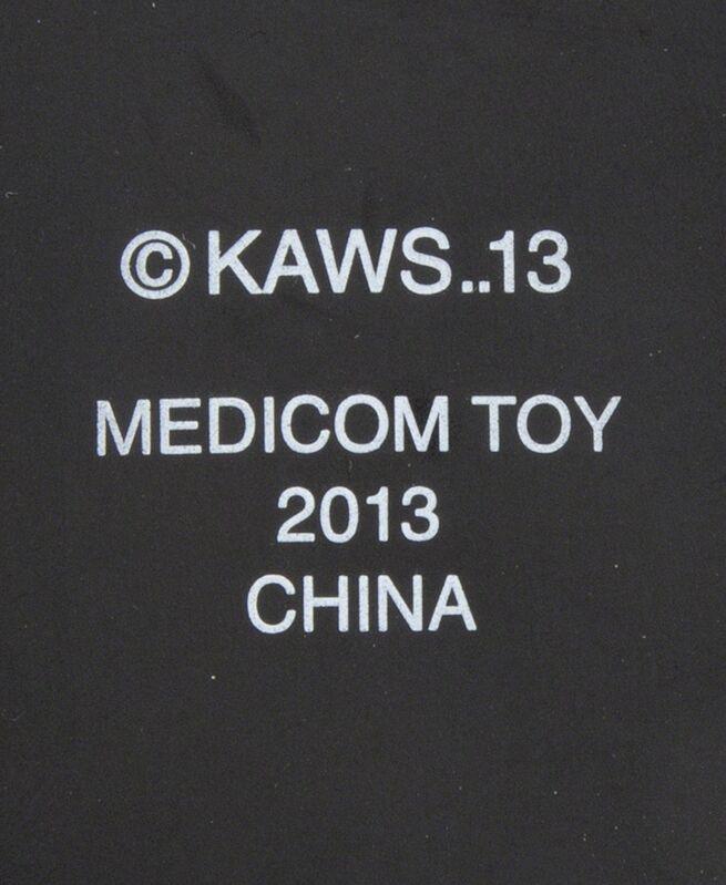 KAWS, 'Passing Through Companion (Black)', 2013, Sculpture, Cast resin sculpture, Julien's Auctions