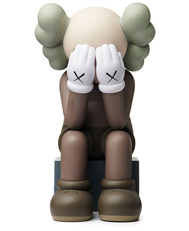 KAWS, 'KAWS Brown Companions: set of 4 (KAWS Companion 2016-2019)', 2016-2019, Sculpture, Painted Vinyl, Cast Resin, Lot 180