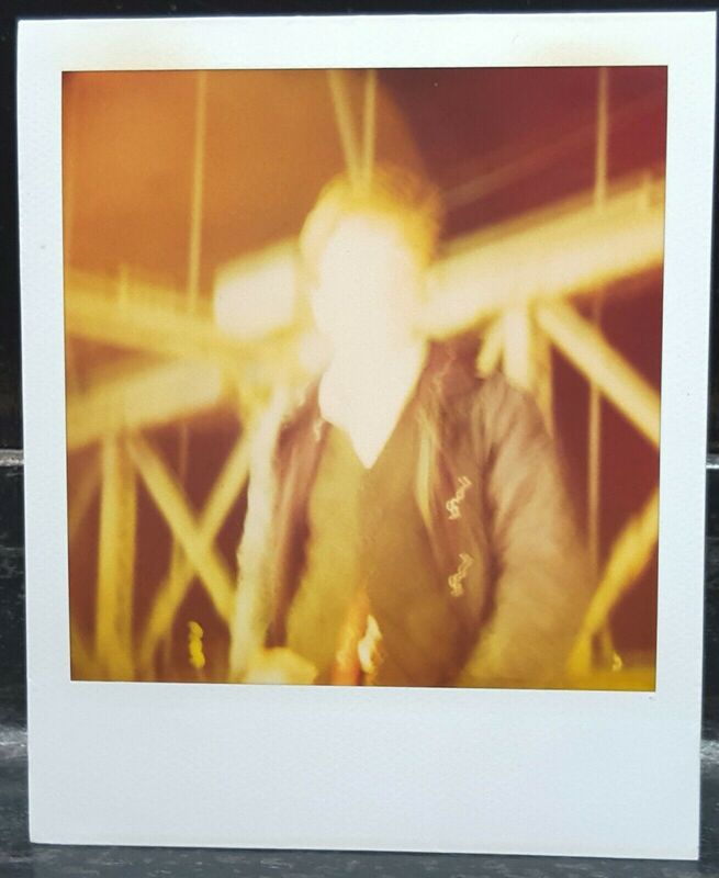 Stefanie Schneider, 'Ewan McGregor - Accident Scene from the movie Stay', 2003, Photography, Polaroid - Unique piece, Instantdreams