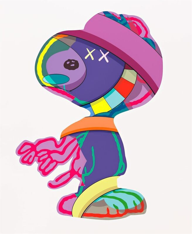 KAWS, 'The Things That Comfort', 2015, Print, Screenprint in colours on Saunders Waterford paper, Tate Ward Auctions