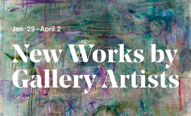 Winter Show: New Works by Gallery Artists, installation view