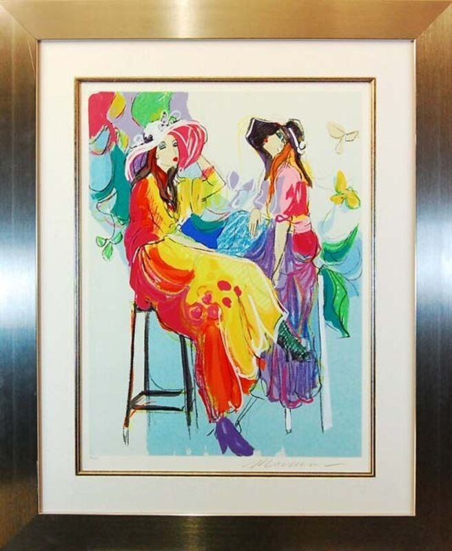 Isaac Maimon, 'Les Coquettes II', 1995, Print, Serigraph on paper, Baterbys