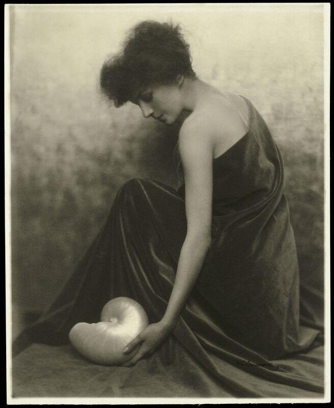 William Edward Dassonville, 'Figure Study', 1906, Photography, Platinum print, de Young Museum