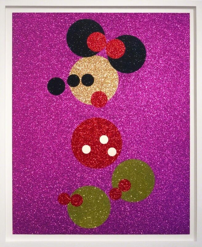 Damien Hirst, 'Minnie (with Glitter)', ca. 2016, Print, Screen print with glitter, Arton Contemporary