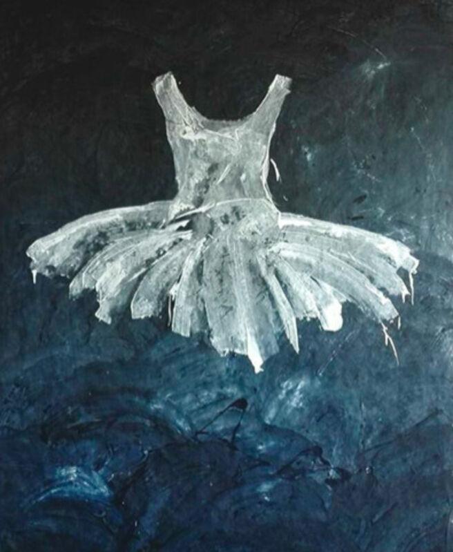 Ewa Bathelier, 'Notte', 2017, Painting, Acrylic on Fabric, Galleria Ca' d'Oro