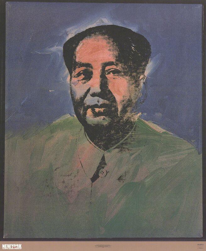 Andy Warhol, 'Mao', 1989, Ephemera or Merchandise, Offset Lithograph, ArtWise