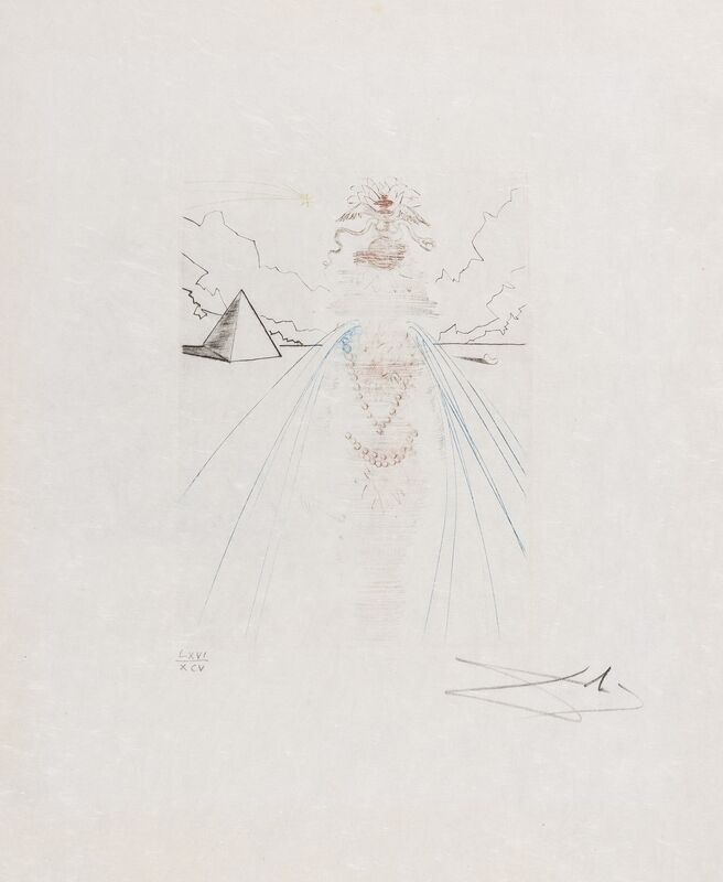Salvador Dalí, 'Antony & Cleopatra (Field 68-7 I)', 1968, Print, Engraving printed in colours, Forum Auctions