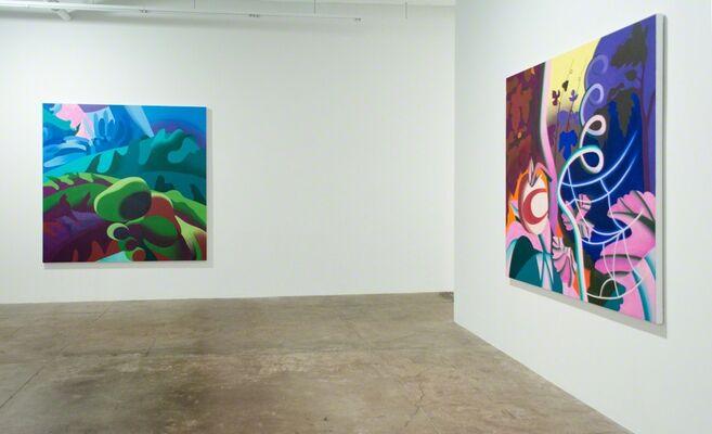 Sarah Bednarek and Leigh Ruple, installation view