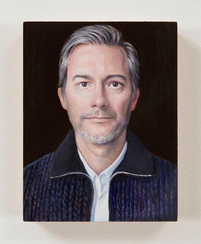 Jim Torok, 'Blaine Wesner', 2014-2015, Painting, Oil on panel, Lora Reynolds Gallery