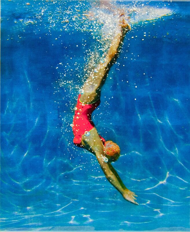 Eric Zener, 'From One Place to Another ', 2018, Painting, Mixed Media and Resin, Gallery Henoch