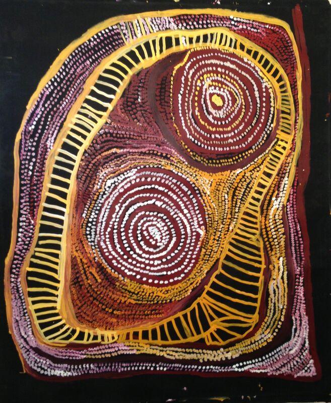 Nyarapayi Giles, 'Untitled', 2016, Painting, Acrylic on canvas, Rebecca Hossack Art Gallery